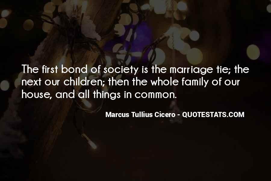 Family Bond Sayings #872043