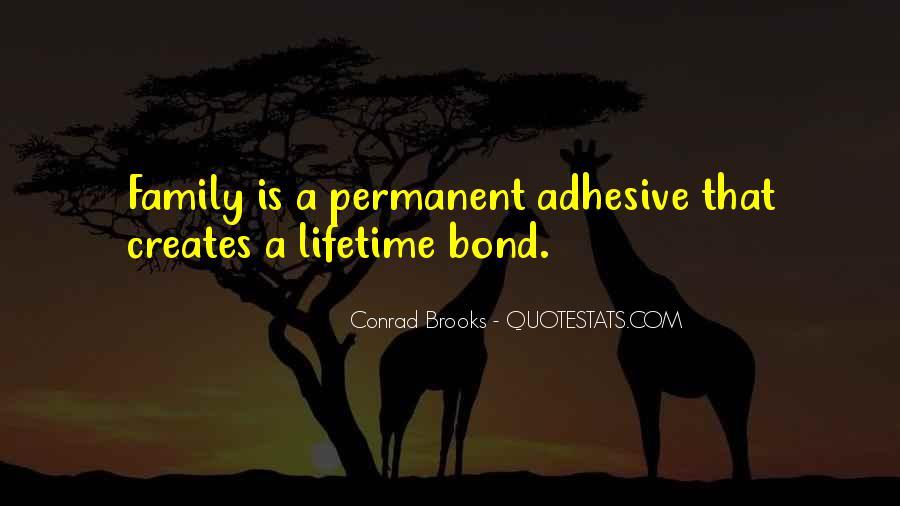 Family Bond Sayings #921682