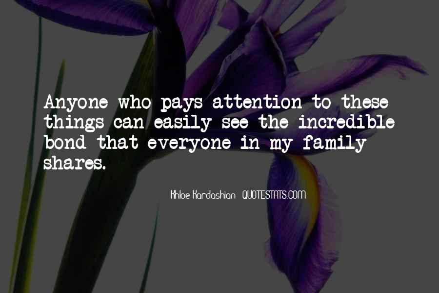 Family Bond Sayings #939235