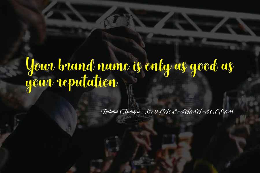 Name Brand Sayings #1134888