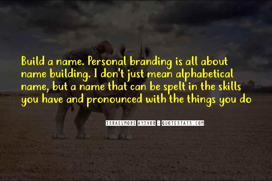 Name Brand Sayings #1289428