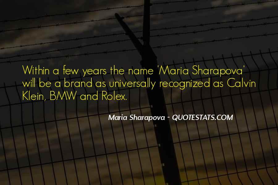Name Brand Sayings #221708