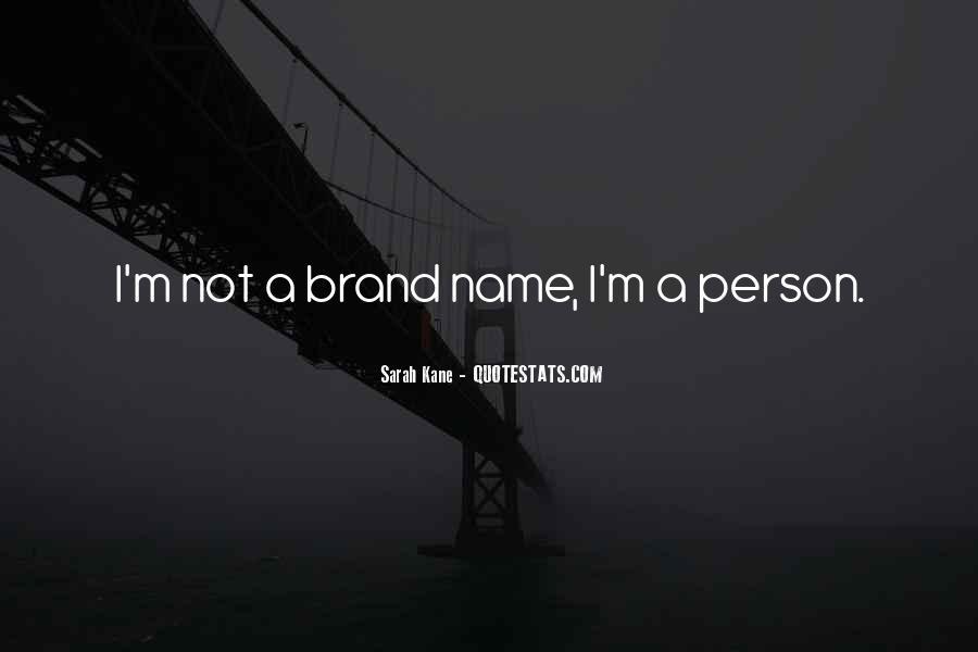 Name Brand Sayings #458655