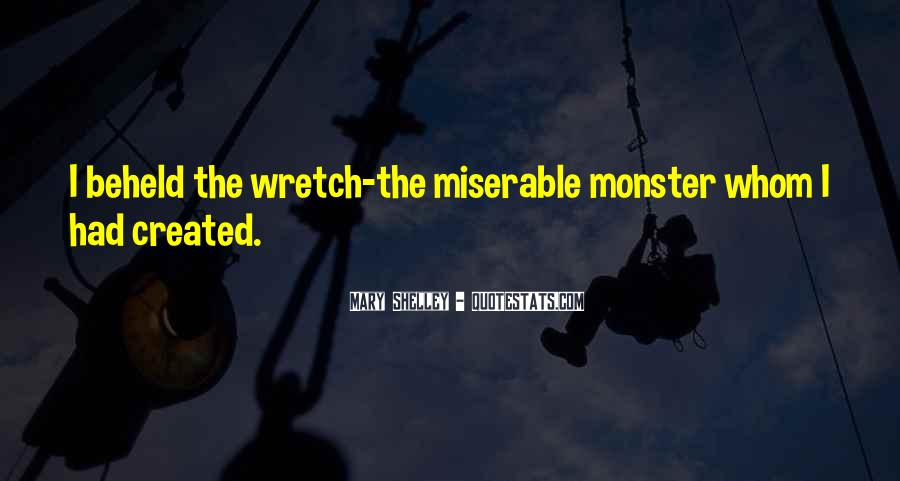 Quotes About Monster In Frankenstein #1071603