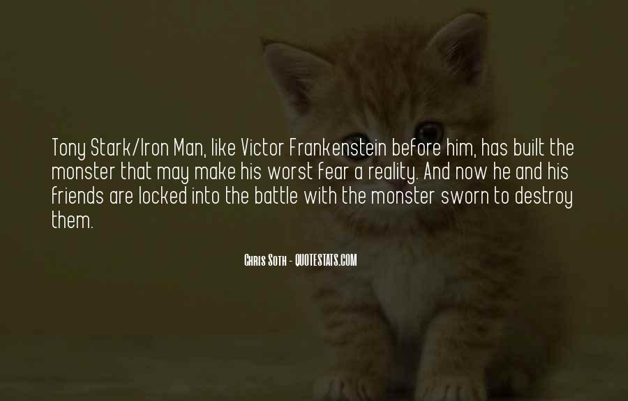 Quotes About Monster In Frankenstein #198510
