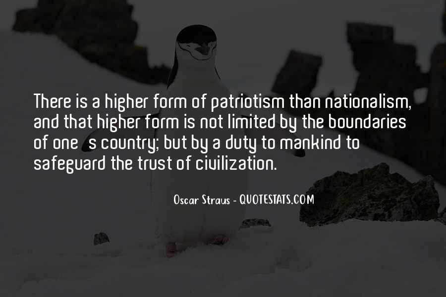 Quotes About Patriotism And Nationalism #1440921