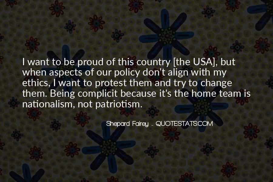 Quotes About Patriotism And Nationalism #1712895