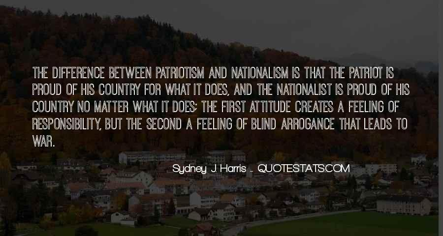 Quotes About Patriotism And Nationalism #1814907