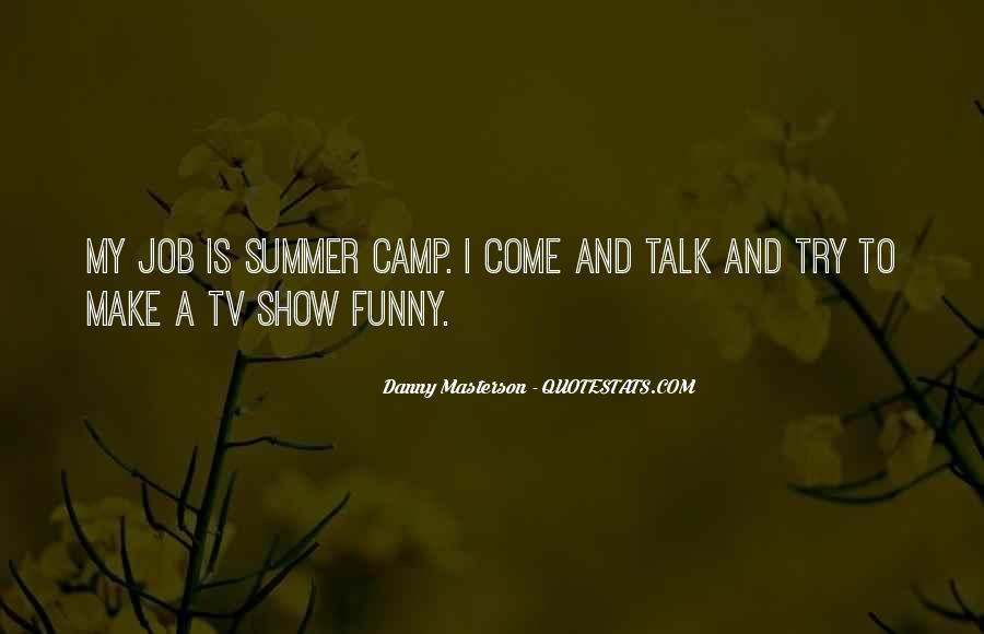 Funny Camp Sayings #1130730