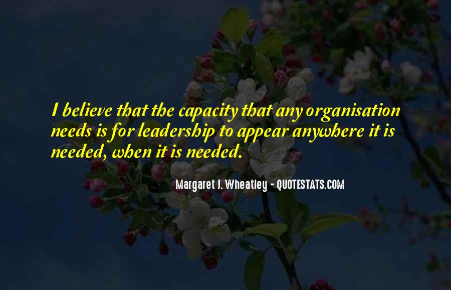 Quotes About Organisation #429059