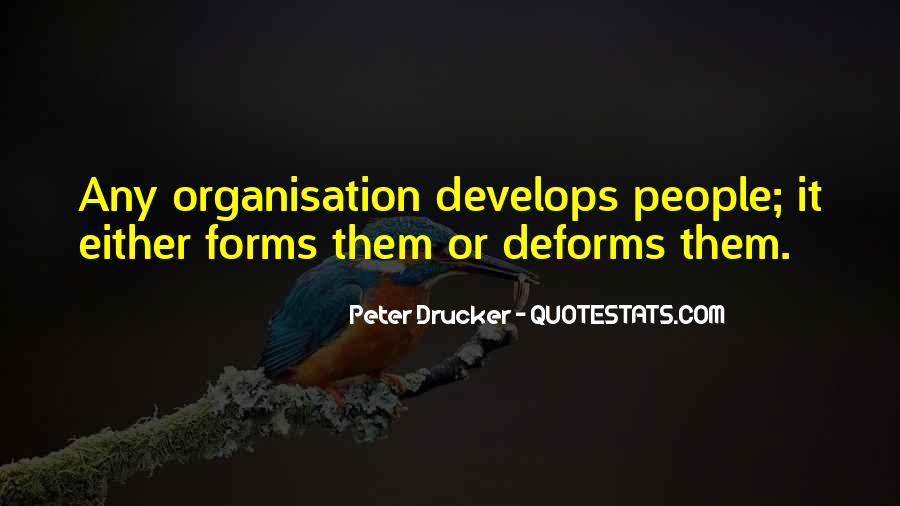 Quotes About Organisation #49975