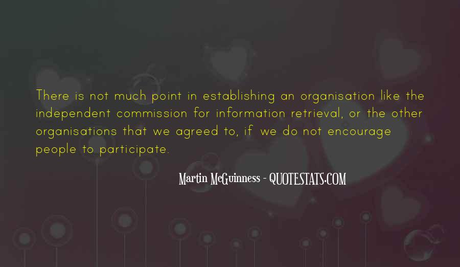 Quotes About Organisation #862579