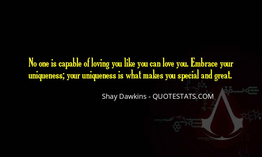 100 Really Powerful What Makes You Special Quotes