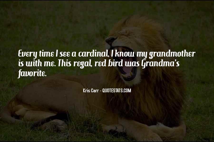 Red Cardinal Sayings #1128044