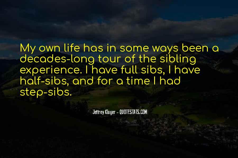 Half Sibling Sayings #1834713