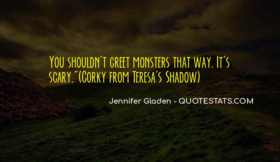 Scary Shadow Sayings #1273241