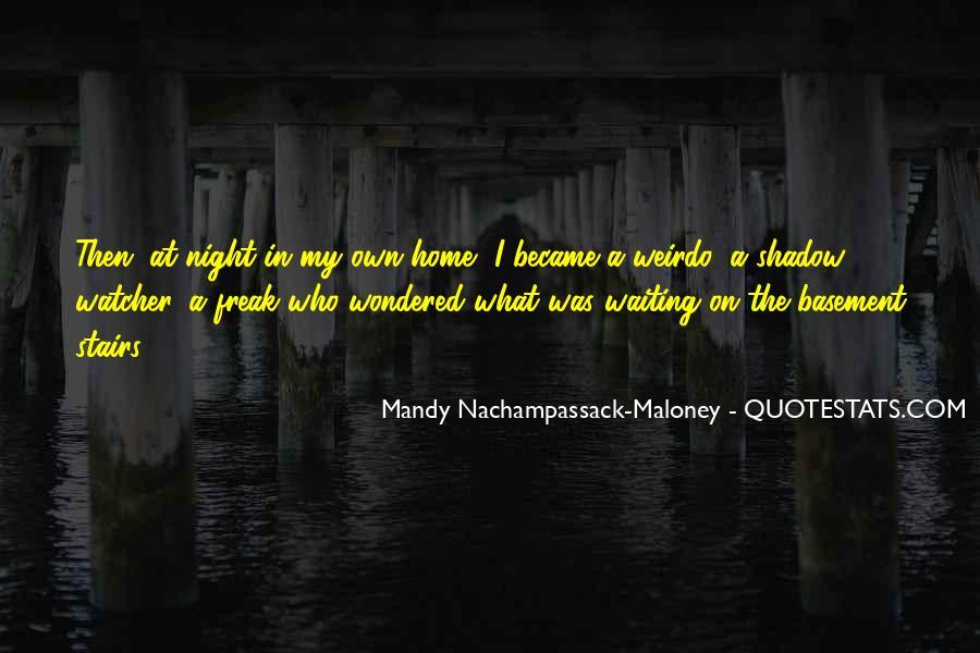 Scary Shadow Sayings #1278963