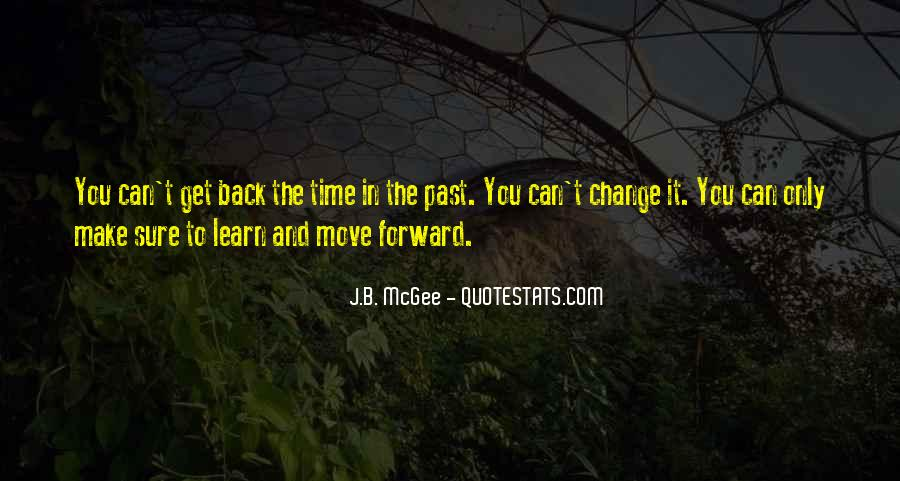 Quotes About Changing Your Past #1456655
