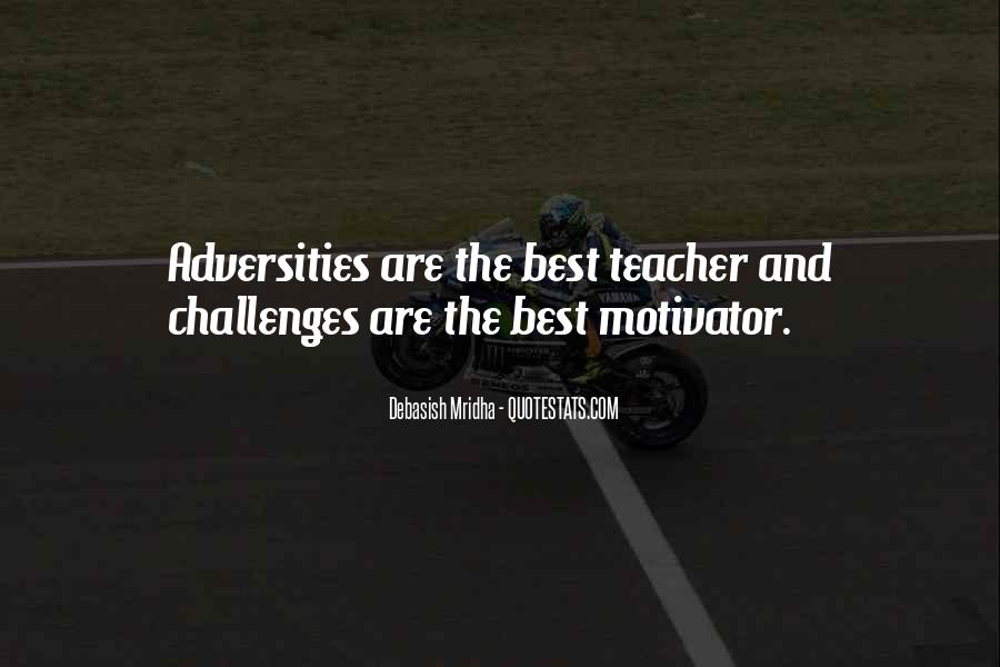 Challenges Quotes And Sayings #1440440