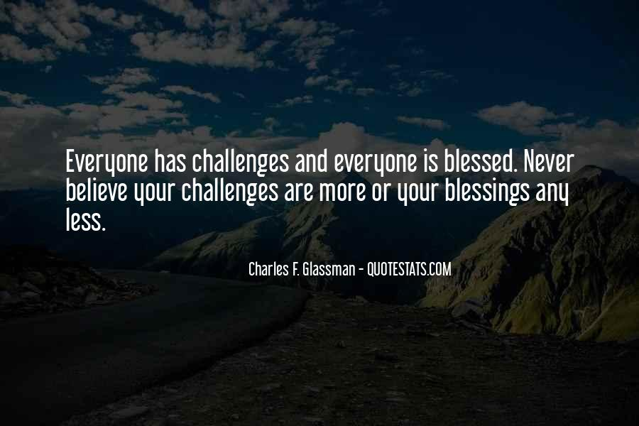 Challenges Quotes And Sayings #1861372