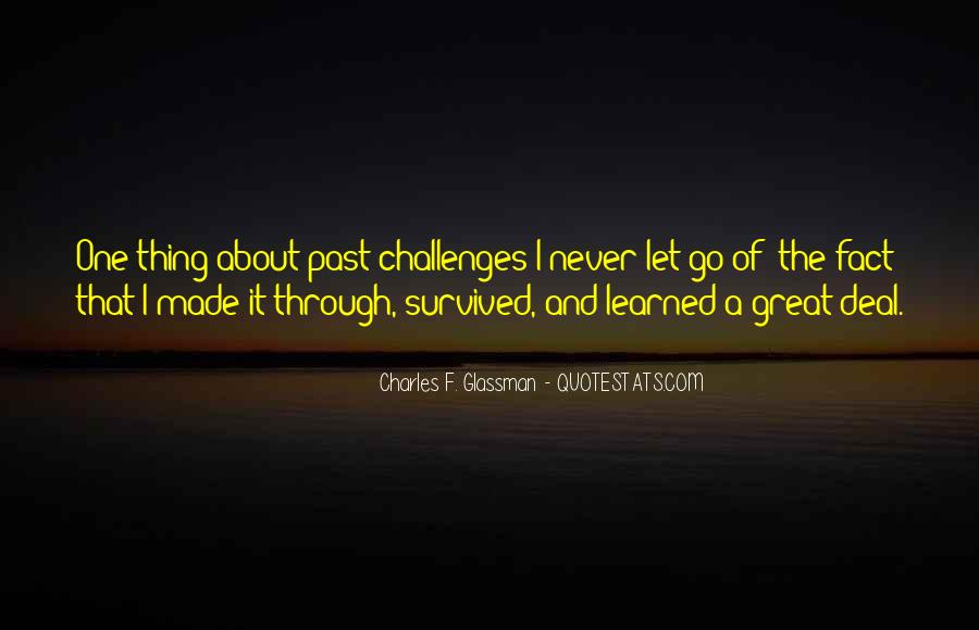 Challenges Quotes And Sayings #1876347