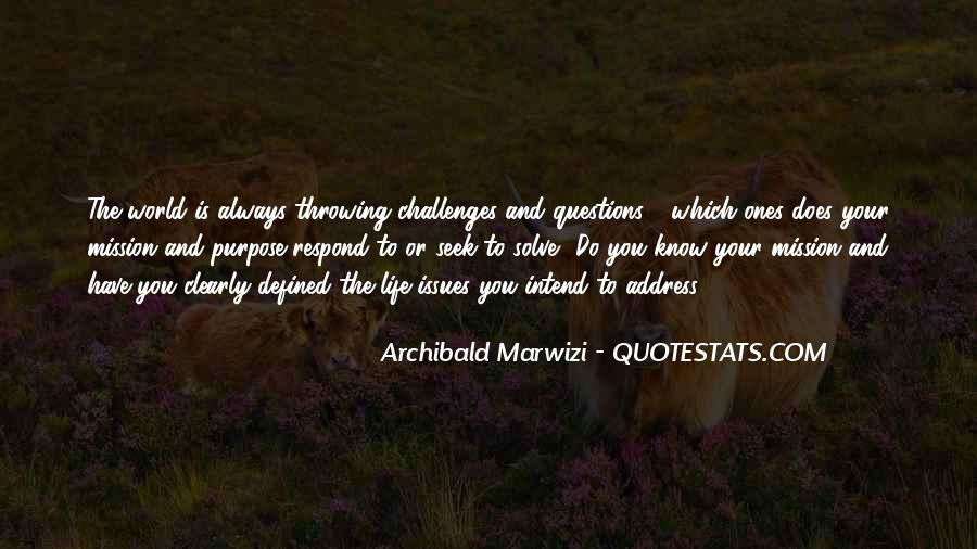Challenges Quotes And Sayings #595594