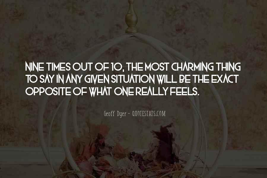 Most Charming Sayings #82723