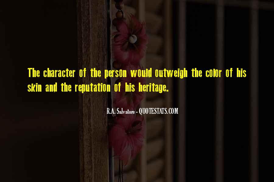 Character Reputation Sayings #1095466