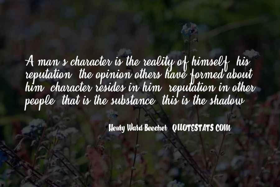 Character Reputation Sayings #1421721
