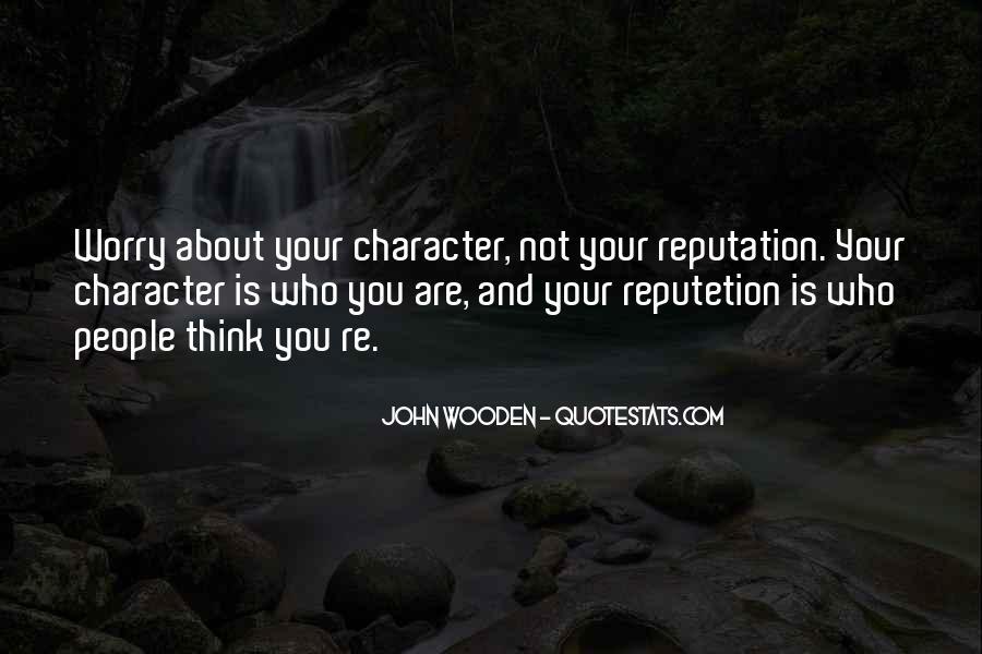 Character Reputation Sayings #1610377