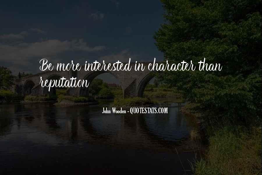 Character Reputation Sayings #1650763