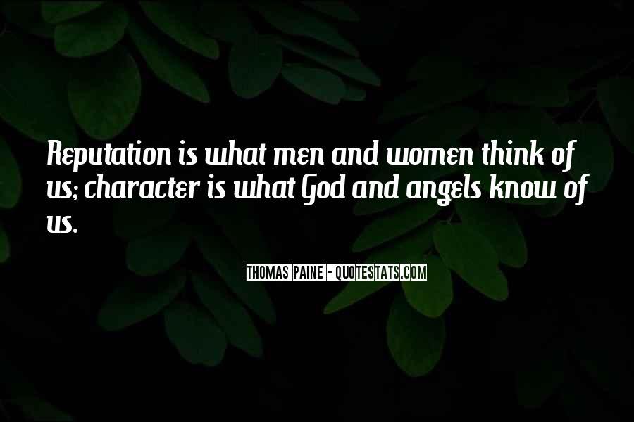 Character Reputation Sayings #1870101