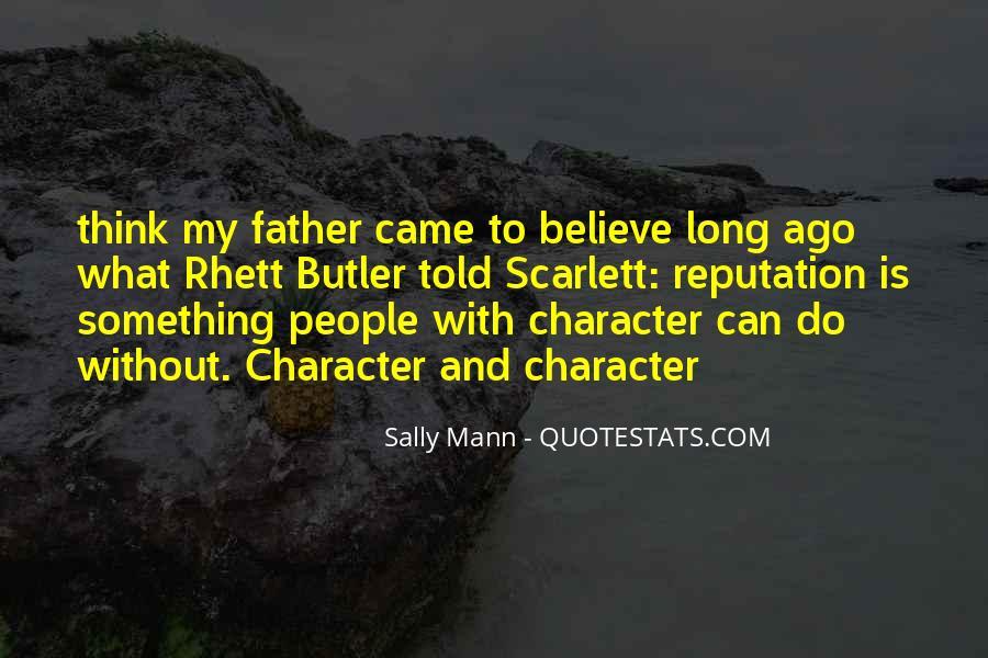 Character Reputation Sayings #214520