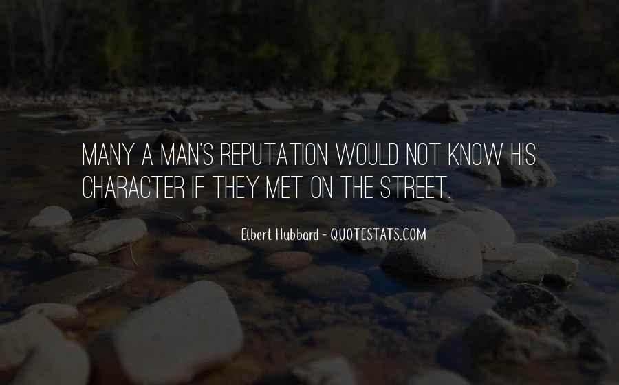 Character Reputation Sayings #222995