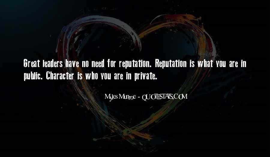 Character Reputation Sayings #385265