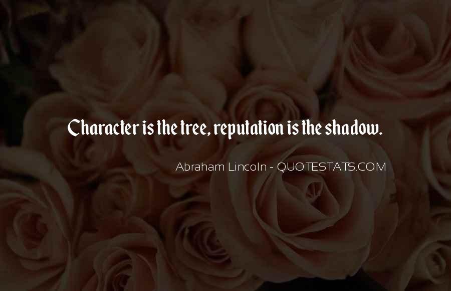 Character Reputation Sayings #513663