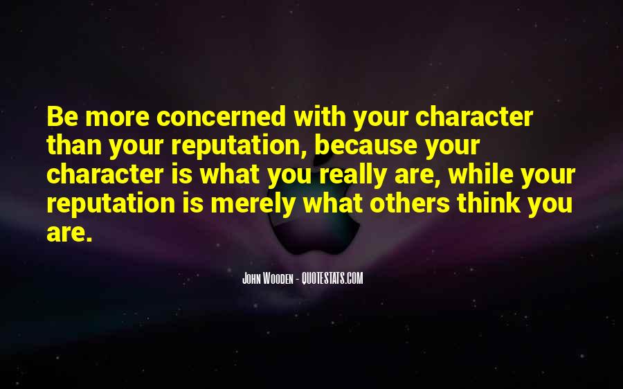 Character Reputation Sayings #606014