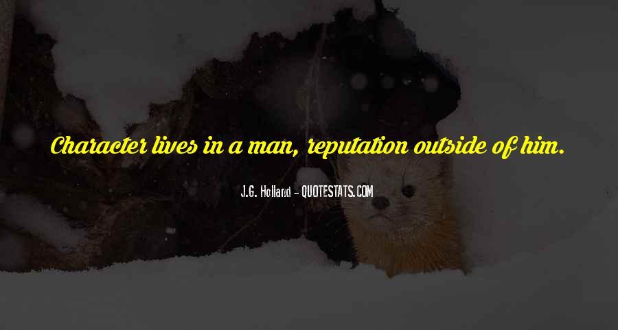 Character Reputation Sayings #795546