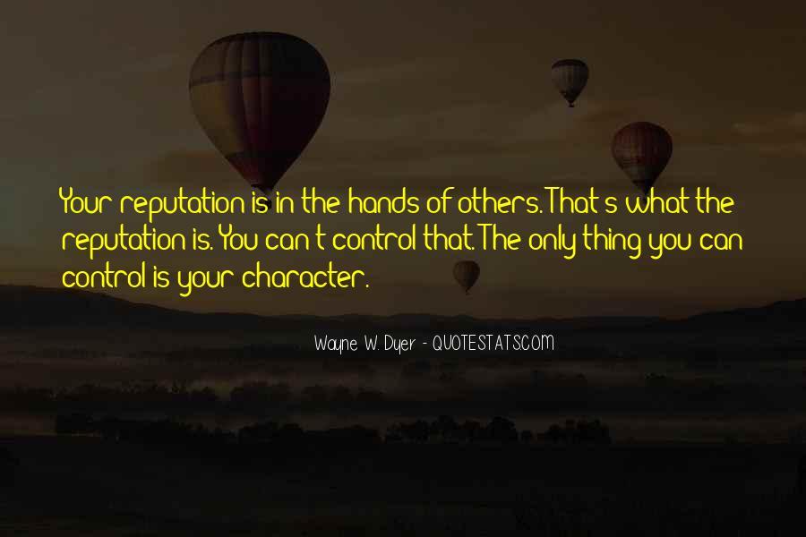 Character Reputation Sayings #840462