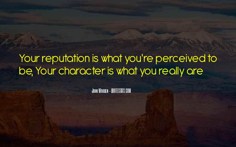 Character Reputation Sayings #883832
