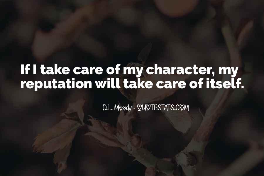 Character Reputation Sayings #899387