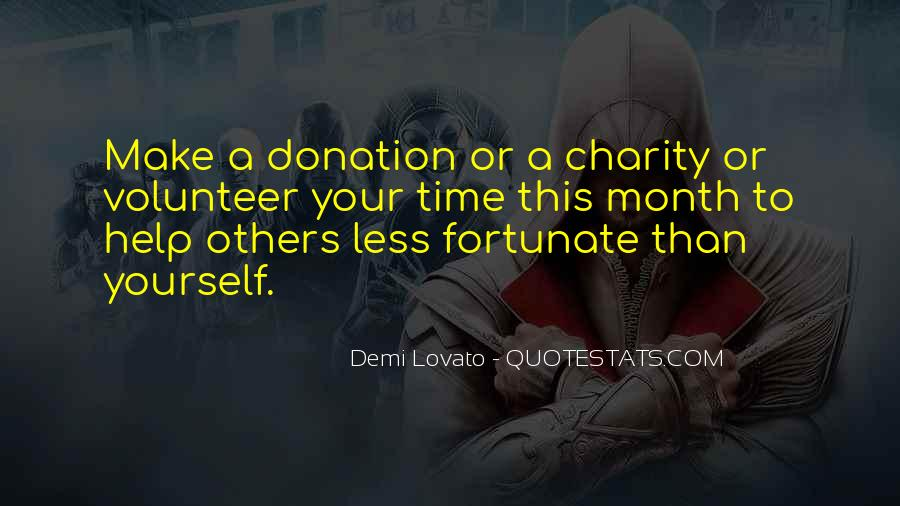 Charity Donation Sayings #1368190