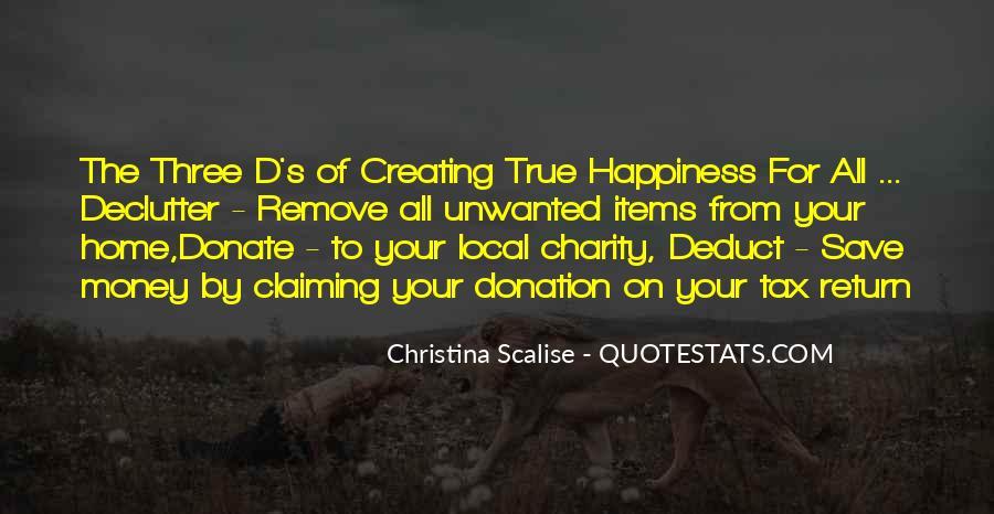 Charity Donation Sayings #1388040