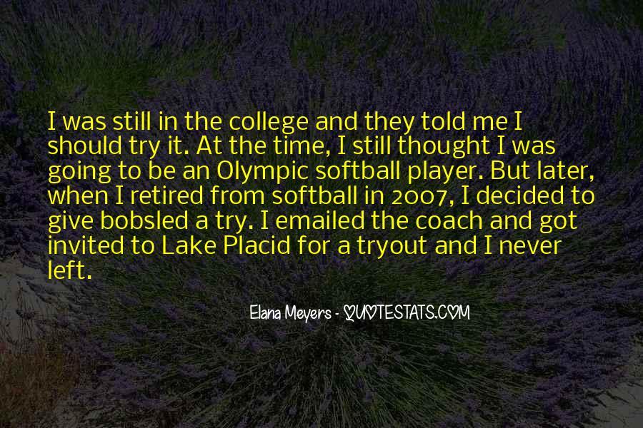 Softball Coach Sayings #625085