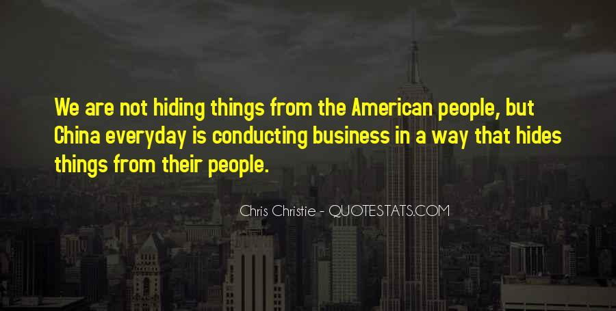 China Business Sayings #1104696