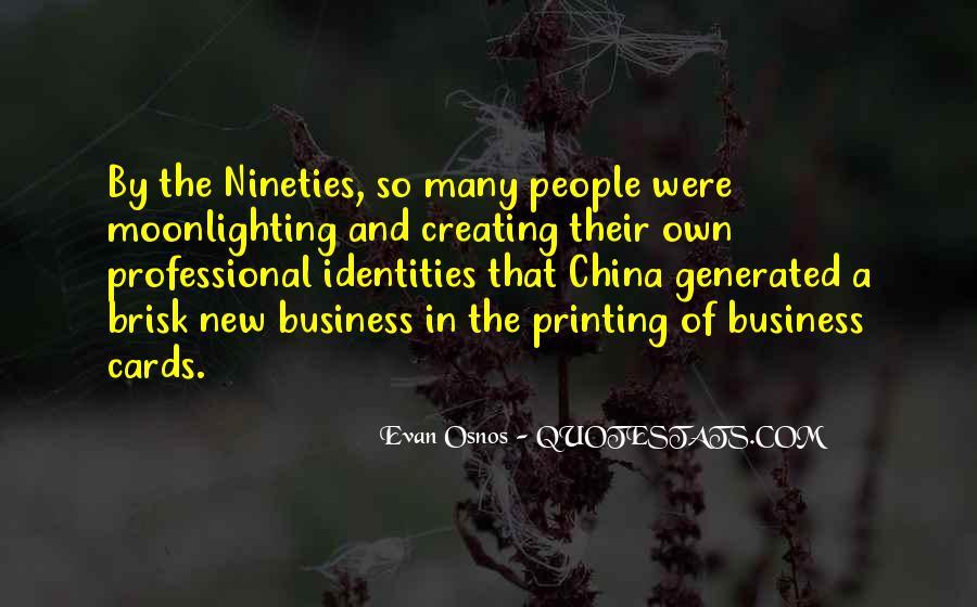 China Business Sayings #1464