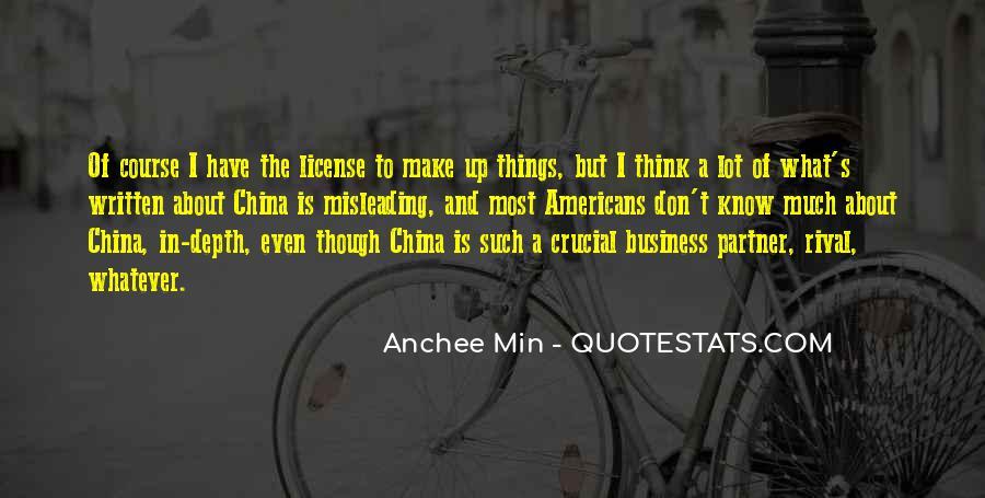 China Business Sayings #1745968