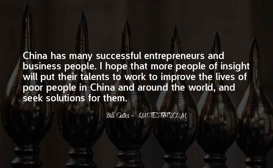 China Business Sayings #278123