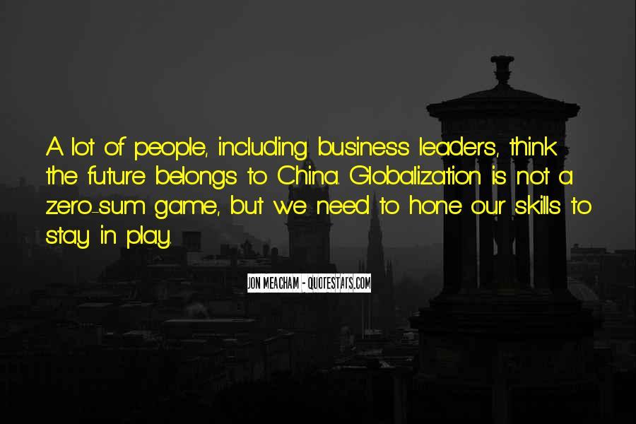 China Business Sayings #370160