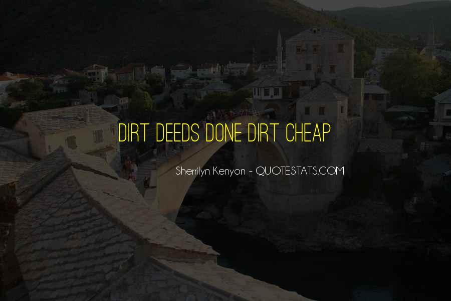 Dirt Cheap Sayings #429167